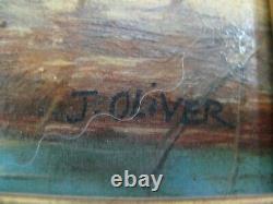 3050 Oil On Panel Signed Former English Orientalist Quality Framework