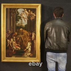 Ancient Religious Painting Saint Jerome Oil Painting On Canvas With Frame 800