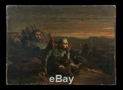 Death Of Former Soldier Oil On Canvas Napoleon Empire Collection Number