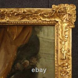 Female Nude Painting Old Oil Painting On Canvas Frame 800 19th Century