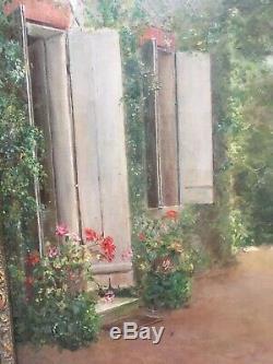 Former Oil On Canvas Signed Releudi