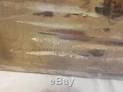 Former Painting Oil On Canvas, Breton Fisherman Signed Morin Monin