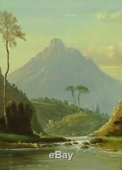 Italian School Old Painting Oil On Canvas