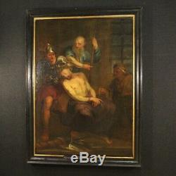 Old Flemish Painting Religious Oil Painting Christ Frame 700