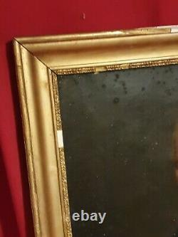 Old Man Portrait, Oil On Canvas, Early XIX Th Century, Gilded Frame