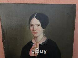 Old Oil Paintings Portrait Man On Canvas Man And Woman