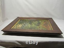 Old Painting Hst Oil On Canvas Theodore Haas Alsatian Painter XIX Eme