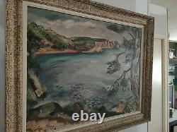 Old Painting / Oil On Canvas Signed Othon Friesz. 1925