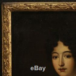 Old Painting Oil Painting Portrait Woman Part 700 18th Century