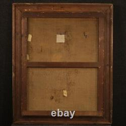 Painting Oil Painting On Ancient Canvas Landscape Signed With 19th Century Frame
