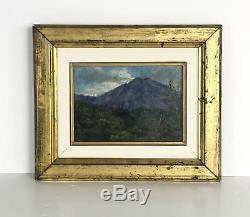 Table / Ancient Painting On Panel Framed (chin Layed) 29 CM X 24