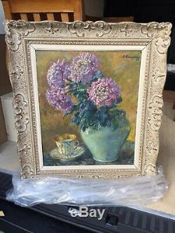 Table Former Oil On Canvas Cammissar