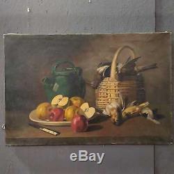 Table Former Oil On Canvas Still Life