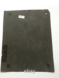Table Former Oil On Paper Evrard Jul (nineteenth-s) Still Life