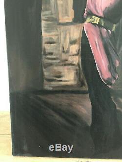 Table Oil On Canvas Former Mr. Laoire (twentieth-s) Portrait