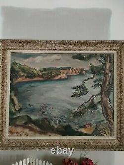 Ancien Tableau / Huile sur Toile signée Othon Friesz. 1925