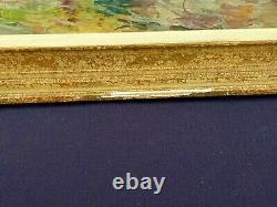 Ancien Tableau MARINE Huile sur panneau Signé / Pierre Forest 1881-1971