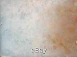 Ancienne Huile Sur Cuivre XVIIIe Vierge madone old painting oil on copper Russe