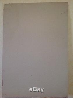 Ancienne Huile sur Carton Composition Abstraite Signée Thorvald HELLESEN
