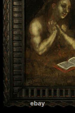 Ancienne peinture a l'huile sur cuivre, vanité XVIIIe / Memento Mori Curiosites