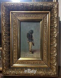 Ancienne tableau huile sur toile
