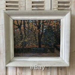 Jan Rikar Jean Ricard ALBI Tarn Peintre 81 Peinture HST Huile sur Toile Ancien