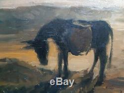 Peinture de Charles GUILLAUD (1925-2014) Huile sur toile Tableau ancien