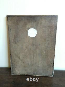 Tableau Ancien Huile sur panneau INCONNU (XIXe-s) nature morte
