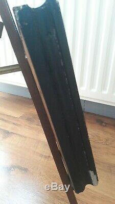 Tableau Huile sur bois La Vanité ancienne rare sujet encadrement napoleon 3