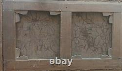 Tableau ancien, Barbizon, Normandie, paysage de mer. Huile sur toile