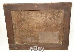 Tableau ancien XVIII ème 18 ème Siècle 32 X 26 cm Huile sur toile