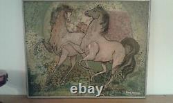 Tableau ancien huile sur toileDanse Nuptiale Jean Micas 1976