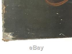 Tableau ancien huile sur toile Maurice LECLERCQ (1919) nature morte