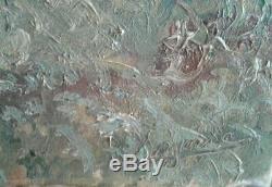 Tableau ancien huile sur toile paysage Pyrénée ORIGINAL. René Gaston LAGORRE