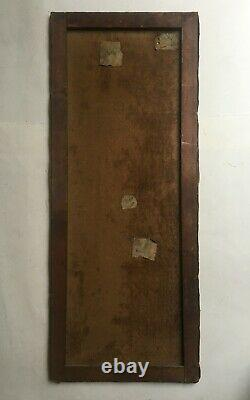 Tableau ancien signé E. Ternet, Fleurs, Importante huile sur toile, Début XXe